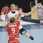 Nach 167 L&auml;nderspielen mit 576 Toren beendet Holger Glandorf seine Karriere in der deutschen Handball-Nationalmannschaft. Der 31-j&auml;hrige Linksh&auml;nder war 2007 Weltmeister und gewann im Juni mit der SG Flensburg-Handewitt die Champions League<br /> Archiv aus: <br />  GLANDORF Holger<br /> Photo:   nph (  nordphoto  )