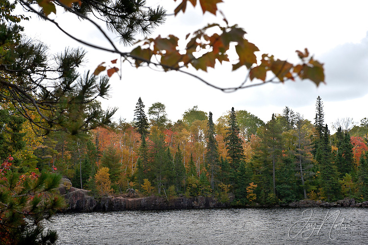 The Boundary Waters Canoe Area is a million square acres of camping , hiking and canoeing wilderness, in northern Minnesota