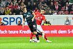 04.11.2018, Opel-Arena, Mainz, GER, 1 FBL, 1. FSV Mainz 05 vs SV Werder Bremen, <br /> <br /> DFL REGULATIONS PROHIBIT ANY USE OF PHOTOGRAPHS AS IMAGE SEQUENCES AND/OR QUASI-VIDEO.<br /> <br /> im Bild: Max Kruse (SV Werder Bremen #10) gegen Danny Latza (#6, FSV Mainz)<br /> <br /> Foto © nordphoto / Fabisch