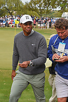 Tiger Woods (USA) departs 18 following day 4 of the WGC Dell Match Play, at the Austin Country Club, Austin, Texas, USA. 3/30/2019.<br /> Picture: Golffile | Ken Murray<br /> <br /> <br /> All photo usage must carry mandatory copyright credit (© Golffile | Ken Murray)