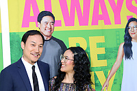 """LOS ANGELES - MAY 22:  Justin Hakuta, Ali Wong at the """"Always Be My Maybe"""" Premiere at the Village Theater on May 22, 2019 in Westwood, CA"""