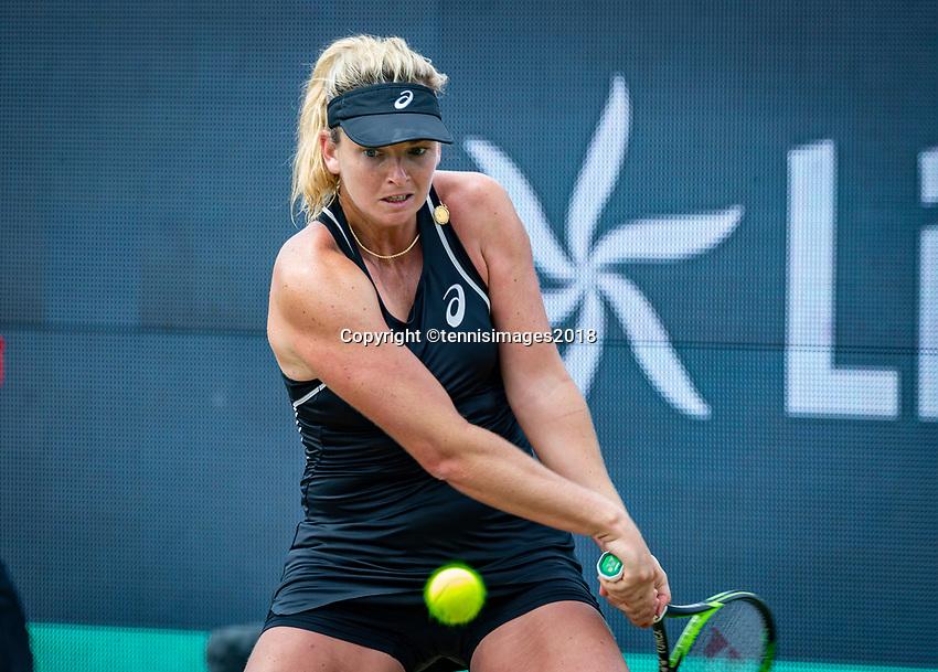 Den Bosch, Netherlands, 16 June, 2018, Tennis, Libema Open, CoCo Vanderweghe (USA)<br /> Photo: Henk Koster/tennisimages.com