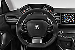 Car pictures of steering wheel view of a 2015 Peugeot 308 Feline 5 Door Hatchback Steering Wheel