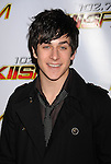 LOS ANGELES, CA. - December 05: David Henrie arrives at the KIIS FM's Jingle Ball 2009 at the Nokia Theatre L.A. Live on December 5, 2009 in Los Angeles, California.