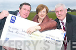Kerry support: Sarah and John Moran, with John Fox, members of the Kerry .Immigrant Support who are heading to London on March 25th to hand over a .cheque for ?40,000 to four Irish Welfare Service providers..   Copyright Kerry's Eye 2008