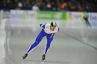 SCHAATSEN: HEERENVEEN: 28-12-2013, IJsstadion Thialf, KNSB Kwalificatie Toernooi (KKT), 10.000m, Frank Vreugdenhil, ©foto Martin de Jong