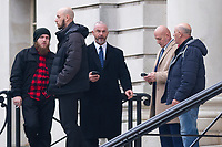 2018 11 16 Dave Wing, Dean Flowers, Haydn Morgan, Cardiff Crown Court, Cardiff, Wales, UK.