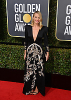 Margot Robbie at the 75th Annual Golden Globe Awards at the Beverly Hilton Hotel, Beverly Hills, USA 07 Jan. 2018<br /> Picture: Paul Smith/Featureflash/SilverHub 0208 004 5359 sales@silverhubmedia.com