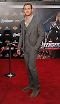 HOLLYWOOD, CA - APRIL 11: Chris Hemsworth attends the World premiere of 'Marvel's Avengers' at the El Capitan Theatre on April 11, 2012 in Hollywood, California.