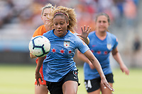 Houston, TX - Sunday May 19, 2019: NWSL regular season match between the Houston Dash and the Chicago Red Stars at BBVA Compass Stadium.