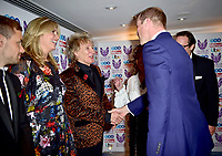 30 October 2017 - Prince William Duke of Cambridge with Penny Lancaster, Rod Stewart, Joan Collins and Husband Percy Gibson at the Pride Of Britain Awards 2017 at The Grosvenor House Hotel London. Photo Credit: ALPR/AdMedia