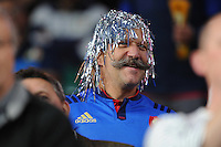A French fan looks on during Match 5 of the Rugby World Cup 2015 between France and Italy - 19/09/2015 - Twickenham Stadium, London <br /> Mandatory Credit: Rob Munro/Stewart Communications