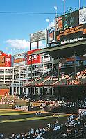 Ballparks: Arlington, TX. View of right field.