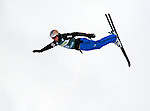 16 January 2009: Andreas Isoz from Switzerland performs aerial acrobatics during the FIS Freestyle World Cup warm-ups at the Olympic Ski Jumping Facility in Lake Placid, NY, USA. Mandatory Photo Credit: Ed Wolfstein Photo. Contact: Ed Wolfstein, Burlington, Vermont, USA. Telephone 802-864-8334. e-mail: ed@wolfstein.net