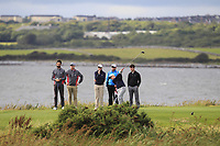 Ronan Mullarney (Galway) on the 14th tee during the Connacht Final of the AIG Barton Shield at Galway Bay Golf Club, Galway, Co Galway. 11/08/2017<br /> <br /> Picture: Golffile | Thos Caffrey<br /> <br /> <br /> All photo usage must carry mandatory copyright credit     (&copy; Golffile | Thos Caffrey)