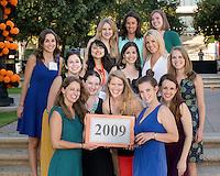 Alumni Reunion Weekend, class group photos - class of 2009