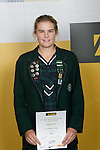 Girls Tennis winner Abigail Guthrie. ASB College Sport Young Sportperson of the Year Awards 2007 held at Eden Park on November 15th, 2007.