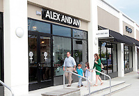 Alex and Ani jewelry store located in the Shops at Stonefield in Charlottesville, VA. Photo/Andrew Shurtleff