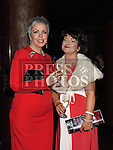 Sonia Callaghan and Theresa Branigan at the ABACAS Valentine Ball at the Westcourt Hotel. Photo:Colin Bell/pressphotos.ie