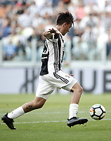 Calcio, Serie A: Torino, Allianz Stadium, 19 agosto 2017. <br /> Juventus' Paulo Dybala is going to score during the Italian Serie A football match between Juventus and Cagliari at Torino's Allianz Stadium, August 19, 2017.<br /> UPDATE IMAGES PRESS/Isabella Bonotto