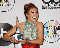 LOS ANGELES, CA - OCTOBER 09: Lauren Daigle poses in the press room during the 2018 American Music Awards at Microsoft Theater on October 9, 2018 in Los Angeles, California. <br /> CAP/MPI/IS<br /> &copy;IS/MPI/Capital Pictures