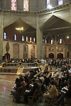 Israel, Lower Galilee, Nazareth, Annunciation Day at the Church of the Annunciation