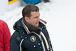 HOLMENKOLLEN, OSLO, NORWAY - March 16: German TV moderator after the cross country 15 km (2 x 7.5 km) competition at the FIS Nordic Combined World Cup on March 16, 2013 in Oslo, Norway. (Photo by Dirk Markgraf)