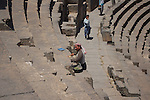 Ruined city of Bosra, Syria
