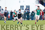 PS IS Kenmare Tom Murnane breaks away from Dylan Connolly Michelstown CBS during  the Munster Colleges B final in Ballyvourney on Saturday