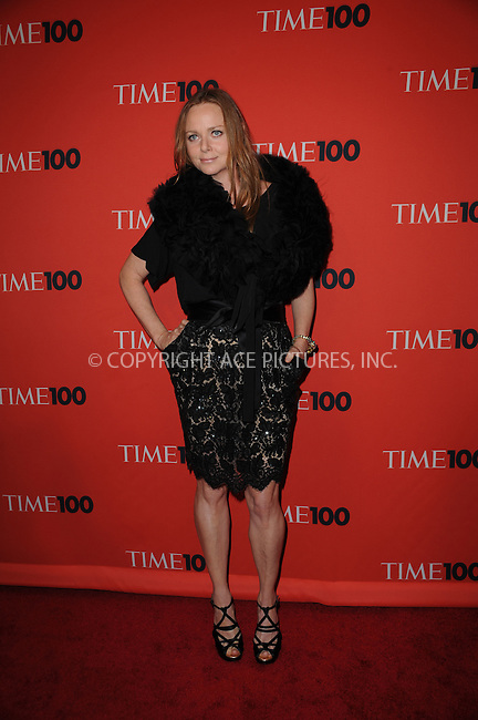 WWW.ACEPIXS.COM . . . . .....May 5, 2009 New York City....Stella McCartney attends Time's 100 Most Influential People in the World Gala at the Frederick P. Rose Hall at Jazz at Lincoln Center on May 5, 2009 in New York City...  ....Please byline: Kristin Callahan - ACEPIXS.COM..... *** ***..Ace Pictures, Inc:  ..Philip Vaughan (646) 769 0430..e-mail: info@acepixs.com..web: http://www.acepixs.com
