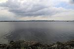 Calm lake water Polonnaruwa, North Central Province, Sri Lanka, Asia