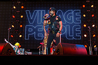 Village People performing at Rewind South Festival 2017 at Temple Island Meadows, Henley-on-Thames, England on 19 August 2017. Photo by David Horn/PRiME Media Images