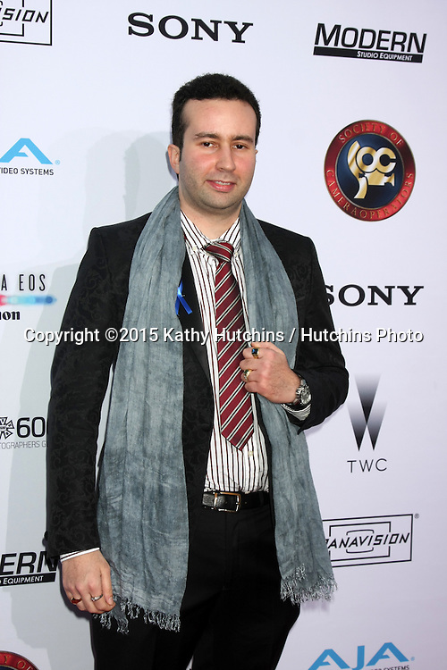 LOS ANGELES - FEB 8:  Paul Tirado at the 2015 Society Of Camera Operators Lifetime Achievement Awards at a Paramount Theater on February 8, 2015 in Los Angeles, CA