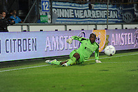 VOETBAL: HEERENVEEN: ABE LENSTRA STADION: 23-08-2013, SC Heerenveen - AJAX uitslag 3-3, AJAX Keeper Kenneth Vermeer, ©foto Martin de Jong