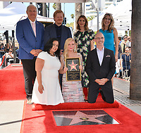 LOS ANGELES, CA. August 29, 2019: Kirsten Dunst, Jesse Plemons, Sofia Coppola, Jeff Zarrinnam, Rana Ghadban & Mitch O'Farrell at the Hollywood Walk of Fame Star Ceremony honoring Kirsten Dunst.<br /> Pictures: Paul Smith/Featureflash