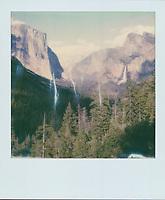 Tunnel View, 2019, Yosemite, CA  Polaroid taken with SX-70