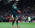 Dejected Ederson of Manchester City walks off the pitch following his mistake which led to the second Utd goal during the Premier League match at Old Trafford, Manchester. Picture date: 8th March 2020. Picture credit should read: Darren Staples/Sportimage