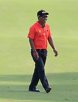 Thongchai Jaidee (THA) on the 15th fairway during the Pro-Am for the DP World Tour Championship at the Jumeirah Golf Estates in Dubai, UAE on Monday 16/11/15.<br /> Picture: Golffile | Thos Caffrey<br /> <br /> All photo usage must carry mandatory copyright credit (© Golffile | Thos Caffrey)
