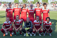 Boyds, MD. - Saturday, June 24 2017:  Washington Spirit starting eleven during a regular season National Women's Soccer League (NWSL) match between the Washington Spirit and the Portland Thorns FC at Maureen Hendricks Field, Maryland SoccerPlex.<br />  The Washington Spirit defeated the Portland Thorns FC 1-0.