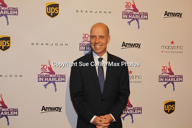 Scott Hamilton is honored tonight - Figure Skating in Harlem celebrates 20 years - Champions in Life benefit Gala on May 2, 2017 in New York Ciry, New York.   (Photo by Sue Coflin/Max Photos)