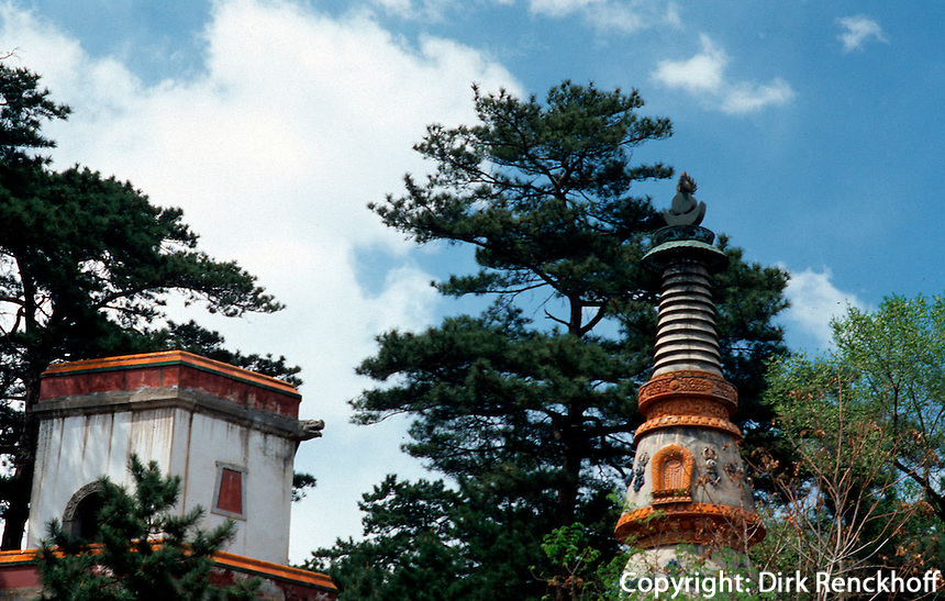 China, Puning Si-Tempel in Chengde, Unesco-Weltkulturerbe