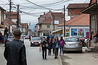 Serbia. Veliki Trnovac (in Albanian: Tërnoc i Madh) is a town in the municipality of Bujanovac, located in the Pčinja District of southern Serbia. A group of Albanian children on their way to school. Street life. Bujanovac is located in the geographical area known as Preševo Valley. The Pestalozzi Children's Foundation (Stiftung Kinderdorf Pestalozzi) is advocating access to high quality education for underprivileged children. It supports in Bujanovac a project called» Our towns, our schools». 16.4.2018 © 2018 Didier Ruef for the Pestalozzi Children's Foundation