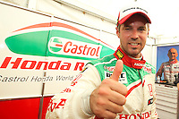Tiago Monteiro (POR) of JAS Honda Racing, Honda Civic S2000 TC, during FIA WTCC, Circuito da Boavista 2013, in Porto, Portugal on June 30, 2013 (Photo Credits: Paulo Oliveira/DPI) ** NortePhoto.com **