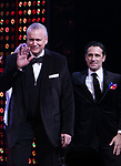 Rick Elice and Chroistopher Gattelli during the Broadway Opening Night Curtain Call of 'The Cher Show'  at Neil Simon Theatre on December 3, 2018 in New York City.
