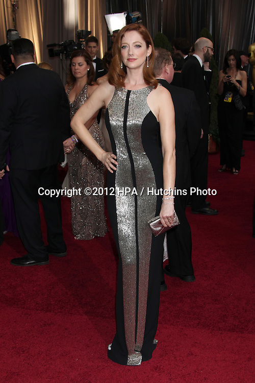 LOS ANGELES - FEB 26:  Judy Greer arrives at the 84th Academy Awards at the Hollywood & Highland Center on February 26, 2012 in Los Angeles, CA.
