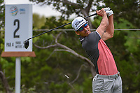 Rafael Cabrera Bello (ESP) watches his tee shot on 2 during day 3 of the WGC Dell Match Play, at the Austin Country Club, Austin, Texas, USA. 3/29/2019.<br /> Picture: Golffile | Ken Murray<br /> <br /> <br /> All photo usage must carry mandatory copyright credit (© Golffile | Ken Murray)