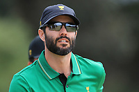 Adam Hadwin (International) on the 2nd during the Second Round - Foursomes of the Presidents Cup 2019, Royal Melbourne Golf Club, Melbourne, Victoria, Australia. 13/12/2019.<br /> Picture Thos Caffrey / Golffile.ie<br /> <br /> All photo usage must carry mandatory copyright credit (© Golffile | Thos Caffrey)