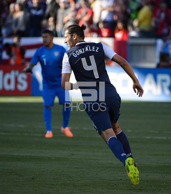 Carson, Ca - Saturday, Feb. 1, 2014: The USA Men's national team defeated South Korea 2-0 during an international friendly.