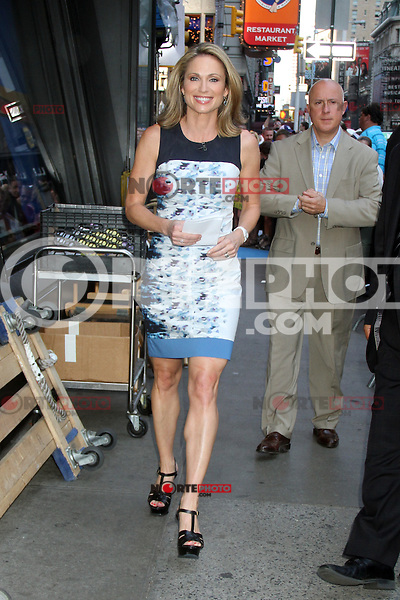 NEW YORK, NY - July 17, 2012: Amy Robach at Good Morning America studios in New York City. &copy; RW/MediaPunch Inc. *NORTEPHOTO*<br />