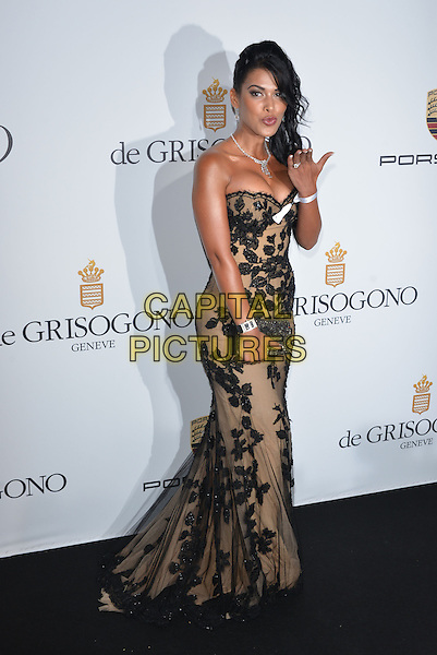 CAP D'ANTIBES, FRANCE - MAY 20:  Ayem Nour attends the De Grisogono dinner party, in collaboration with Gyunel during Cannes film festival at Hotel du Cap-Eden-Roc on May 20, 2014 in Cap d'Antibes, France.<br /> CAP/PL<br /> &copy;Phil Loftus/Capital Pictures